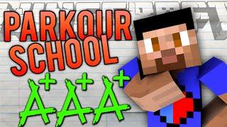 Minecraft PARKOUR SCHOOL #2 with Vikkstar, Lachlan & Preston (Minecraft School Of Parkour)