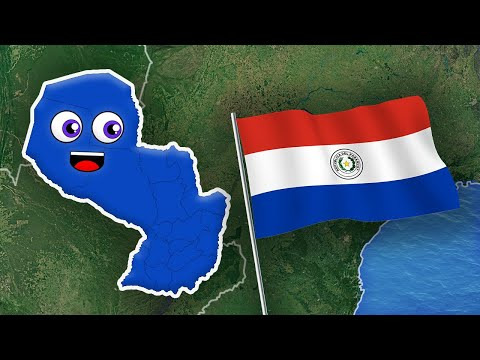 Paraguay Geography/Paraguay Country Departments