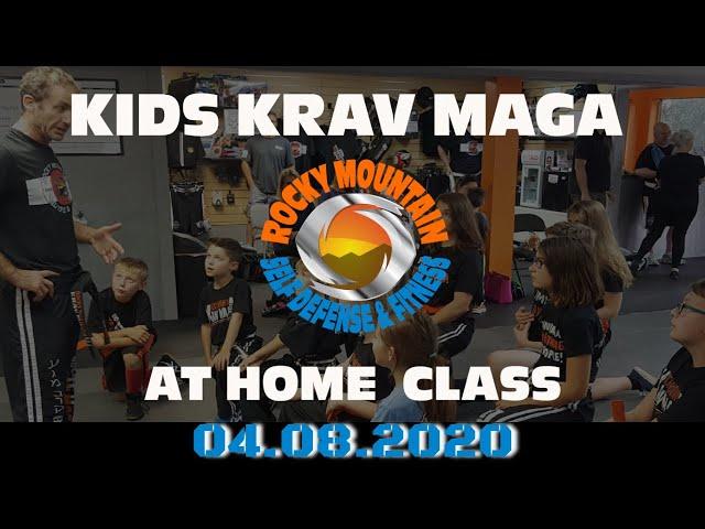 Kids Krav Maga Follow Along Home Work @ RMSDF 4 8 2020
