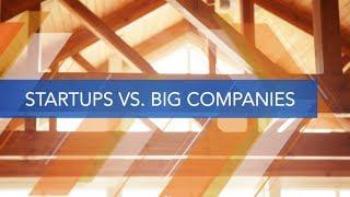 Startups: Startups vs Big Companies