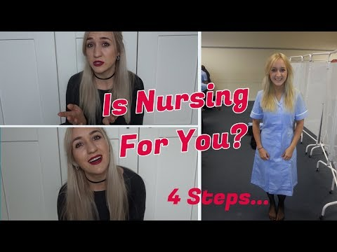 HOW TO GET INTO NURSING SCHOOL IN THE UK. Honest Advice & Tips. 4 EASY STEPS!