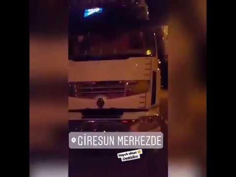 Tanju Akdoğan ve Enis Akkılıç tır ile ceza yedi. (Yüksek ışıklandırma) VIP TRUCK