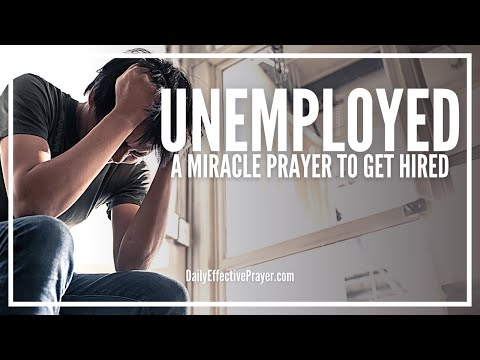 Prayer For Unemployment | Powerful Miracle Prayer Against Unemployment