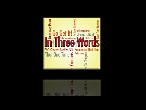 In Three Words by Steve Martin, Blair Williams & Aaron Hines [Marching Band]
