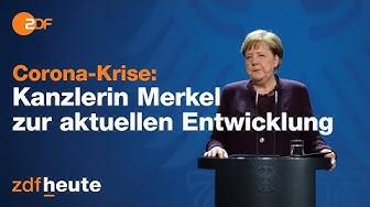 Bundeskanzlerin Angela Merkel zu Corona und der Situation in Deutschland