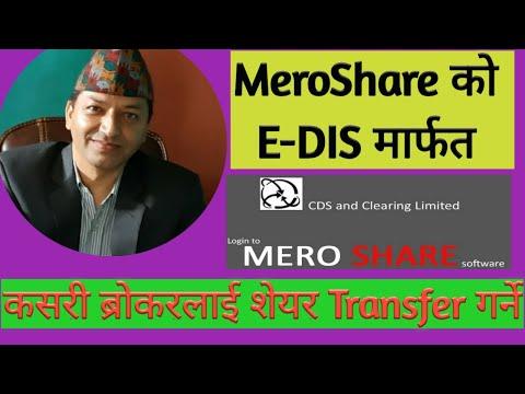 How To Transfer Share Through Mero Share EDIS ?