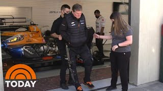 Paralyzed Racecar Driver Walks Again Thanks To New Technology