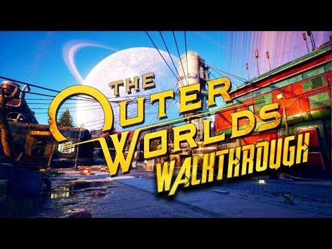 The Outer Worlds - Developer Walkthrough // Tumor Pig Slaughterhouse
