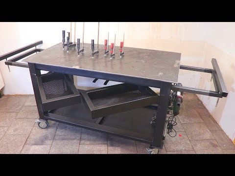 Building Welding Table || Workbench