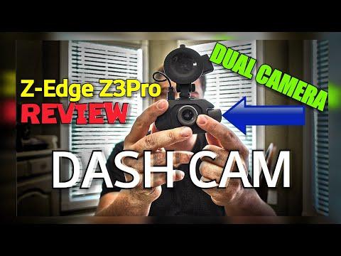 Z-Edge Z3Pro Dual Dash Cam REVIEW