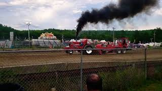#racing #dragrace #tractorpull Monster Tractor pull @ Hillbilly Fair...