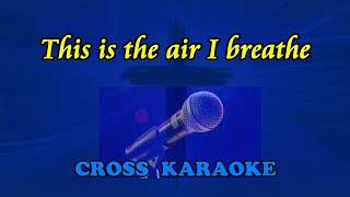 Michael W Smith - This is the air I breathe, karaoke backing.