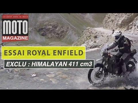 Royal Enfield Himalayan, un nouveau trail sur le toit du monde