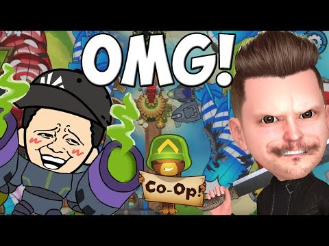 Wir RASIEREN ALLE im COOP! || Bloons TD5 || Let's Play Bloons Tower Defense 5 || BTD5
