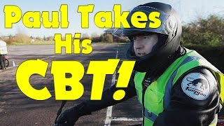On Yer Bike - Paul takes his CBT!