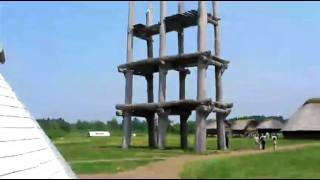 三内丸山遺跡6本復元掘立柱