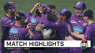 Dominant Canes cruise to another win | KFC BBL|08