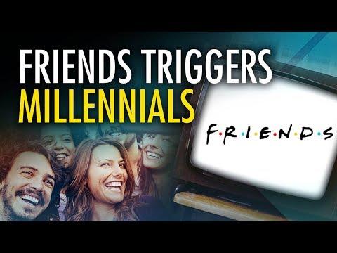 """Return of """"Friends"""" on Netflix """"triggers"""" millennials"""