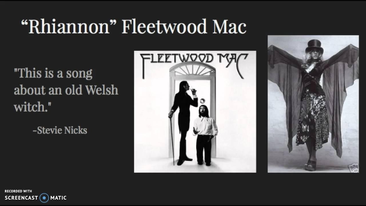 song meaning rhiannon fleetwood mac youtube