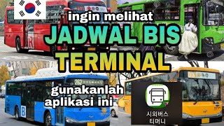 Jadwal bis terminal di korea a…