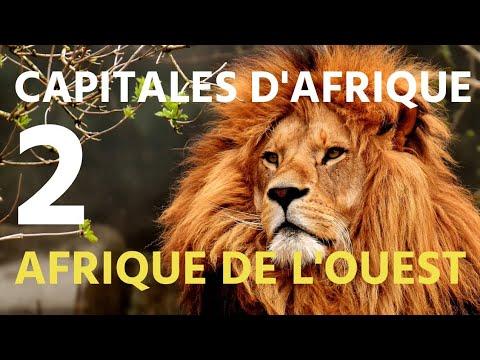 Drapeaux et capitales des pays de l'Afrique - 2