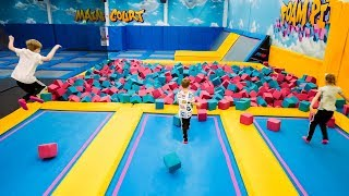 Trampoline Park Fun for Kids at Airhop
