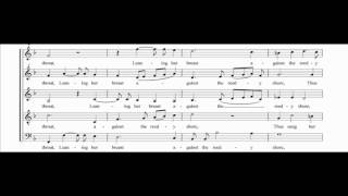 [choral music score] The Silver Swan - Orlando Gibbons