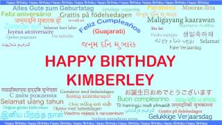 Kimberley   Languages Idiomas - Happy Birthday