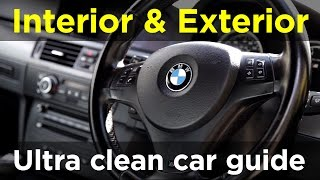 Ultra clean car interior and exterior guide - project m3 pt.7 | road & race s03e08