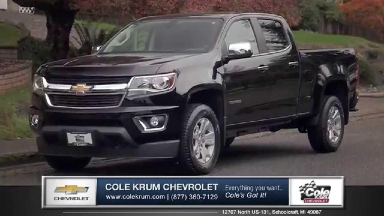 New 2015 chevrolet colorado best new truck prices near kalamazoo walkaround youtube