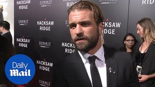 Mel Gibson And Son Milo At Hacksaw Ridge Premiere - Daily Mail