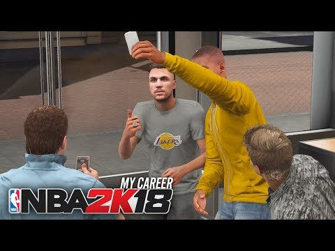 NBA 2K18 My Career - Ep 3 - TAKING TIME FOR MY FANS!!