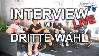 """Interview mit """"Dritte Wahl"""" - Live vom 12. Hütte Rockt Festival"""