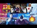 RONALDO FAN REACTS TO MESSI 4 GOALS 😱🔥BARÇA 6 1 EIBAR REACTION