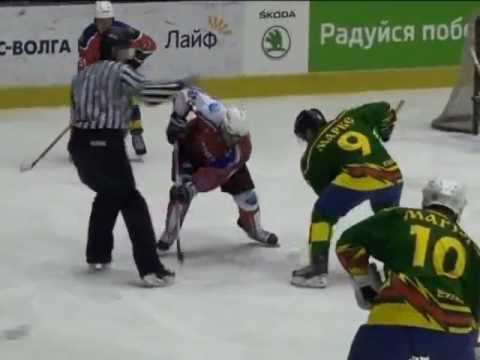 "My-marks.ru ""Хоккей. Кристалл. Саратов"" - Маркс ТВ 30.03.12"
