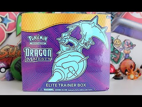 Opening A Dragon Majesty Elite Trainer Box!