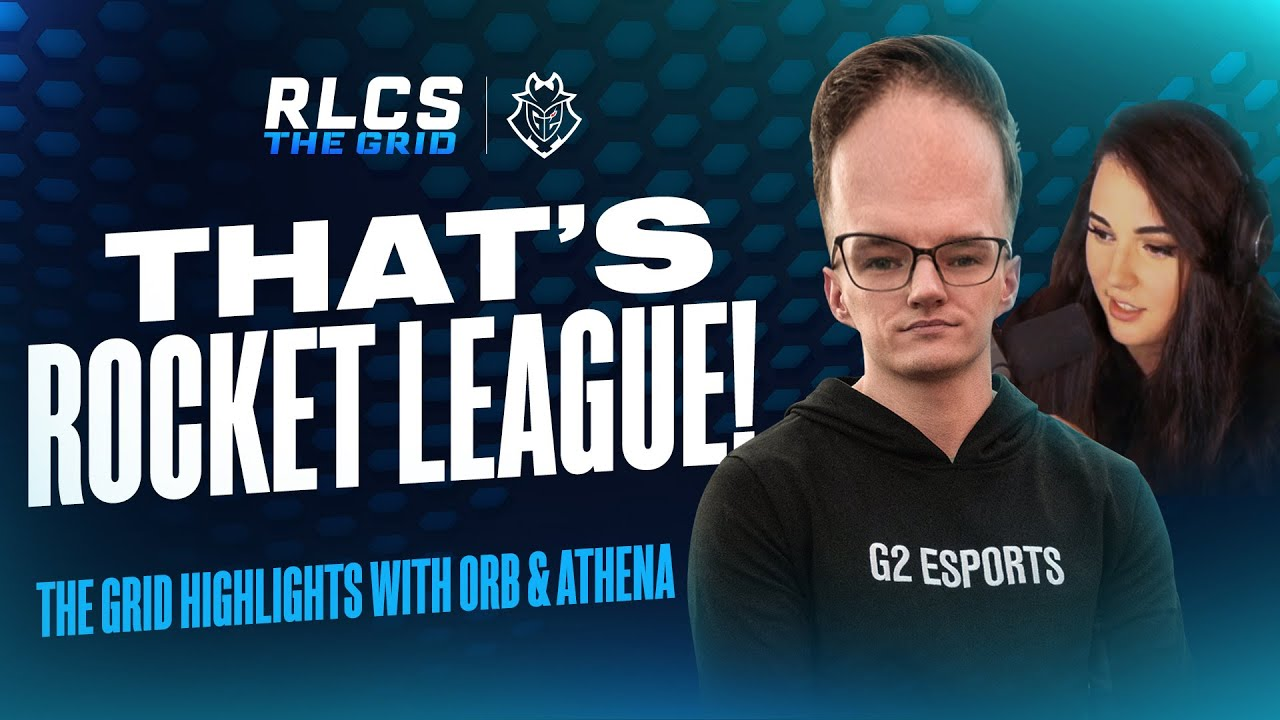 That's Rocket League! | The Grid Highlights with Orb & Athena