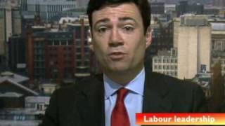 Andy Burnham on his Labour Leadership Bid, Daily Politics, 20 May 2010