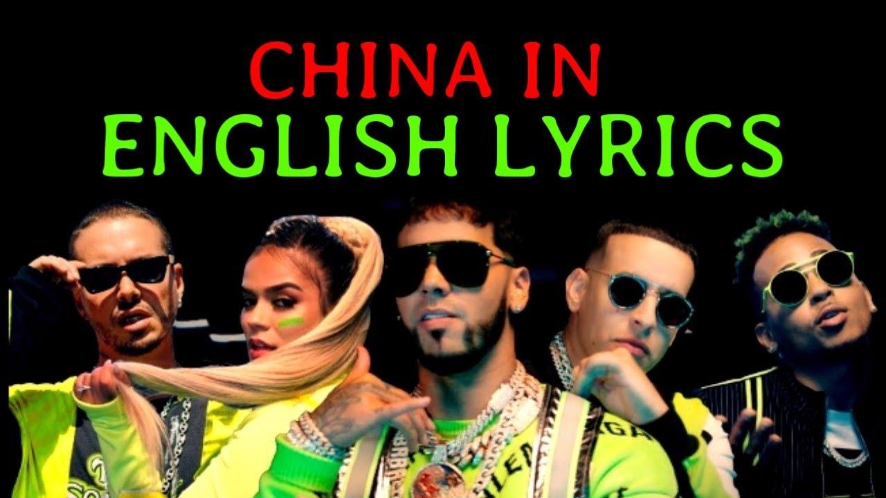 Anuel Aa Daddy Yankee Karol G Ozuna J Balvin China Letra