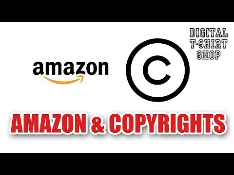 Digital T-Shirt Ship - Amazon Copyrights USPTO Trademarks