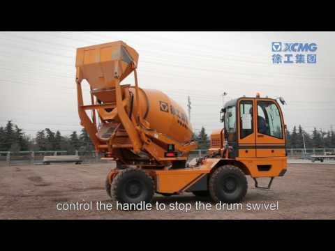 Hot Sale XCMG Selfloading Mobil Concrete Mixer Truck SLM-4