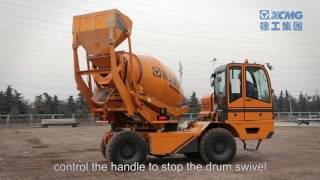 Hot Sale XCMG Selfloading Mobil Concrete Mixer Truck SLM 4