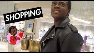 VLOG 4: SHOPPING AT BARNEYS NEW YORK  *tried not to get kicked out*