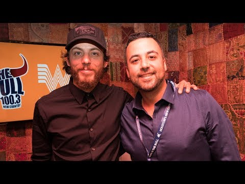 Chris Janson Ten Man Jam Interview Backstage