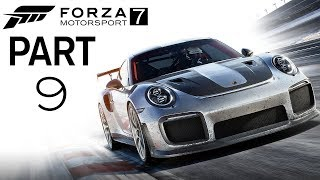 "Forza motorsport 7 - let's play - part 9 - ""sport coupe (jaguar f-type r coupe)"""