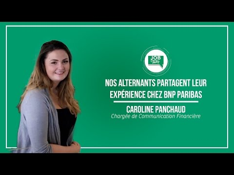 Job Talks du 18 avril : Caroline, Chargée de Communication F