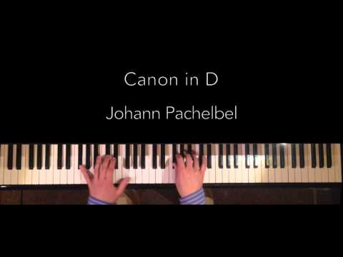 Pachelbel Canon In D (best Piano Version) HQ Audio