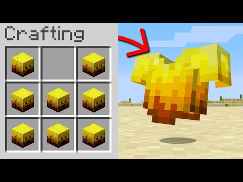 Minecraft, But You Can Craft Armor From Any Mob...
