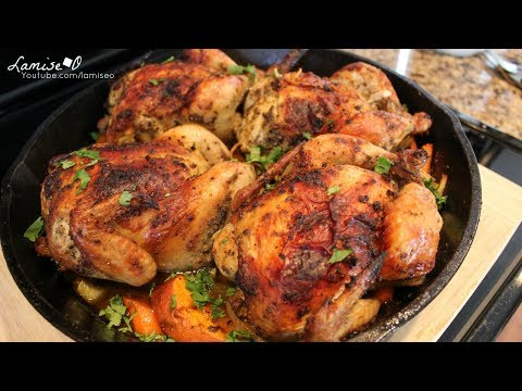 Easy & Juicy Cornish Hens Recipe | 2019 Thanksgiving Meal Ideas | Episode 230