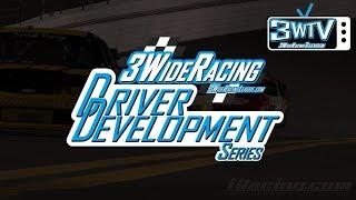 3 Wide Racing league Driver Development Series Race 1: Charlotte
